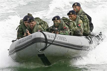 "Portuguese Navy Marines ""Fuzileiros"" - 21st century"