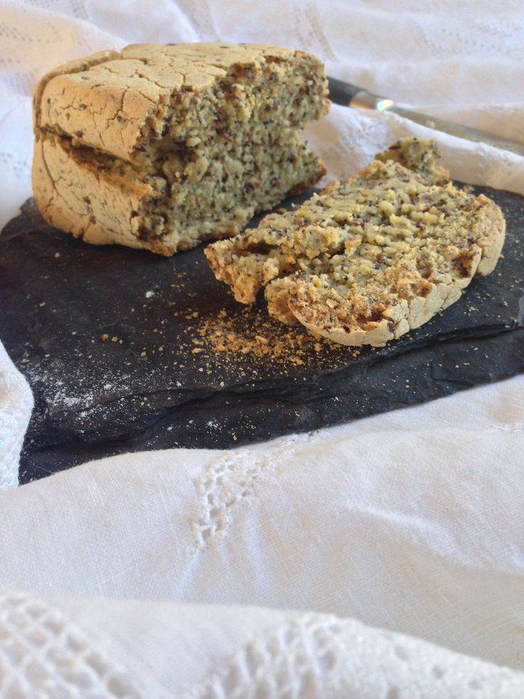Gluten Free Polenta Bread With Poppy Seeds And Linseed Byon