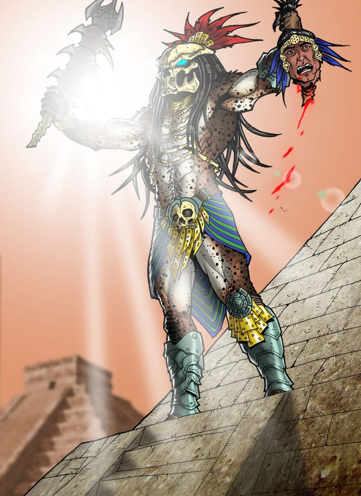 Aztec Predator by Bender18 by Ronniesolano on DeviantArt