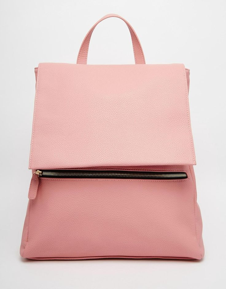 Pack it in pink with this NYC 90s-inspired blush backpack