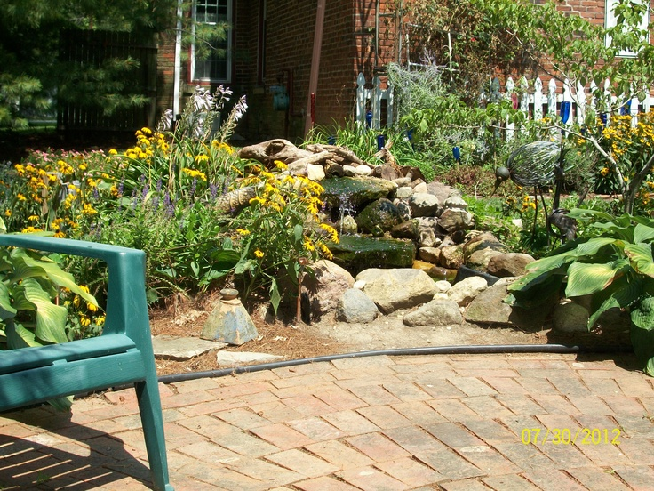 47 best our yard creative spaces using recycled for Plastic pond ideas