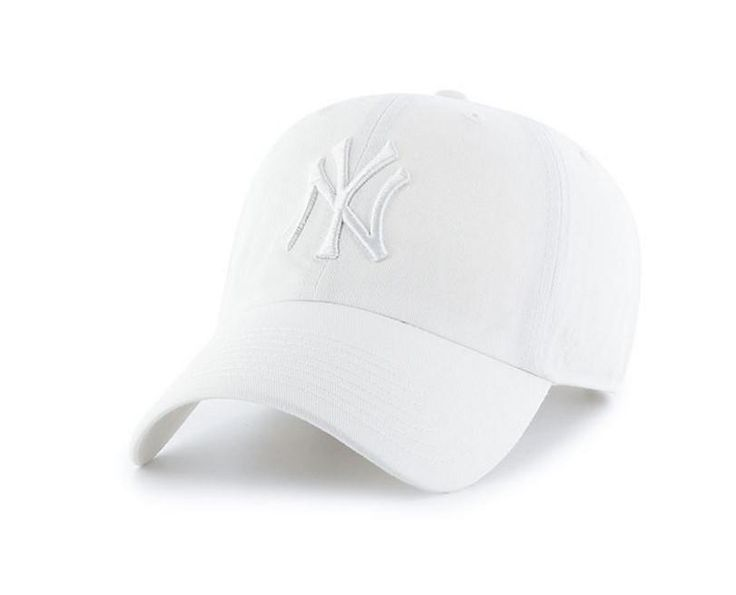 New York Yankees White Dad Hat