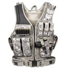 GMG-Global Military Gear Tactical Military Assault Vest w/Pistol Holster-ACU-Army Digital Camo http://zombieapocalypse.cybermarket24.com/zombie-attack-protection/hunting-vests/gmg-global-military-gear-tactical-military-assault-vest-wpistol-holster-acu-army-digital-camo/