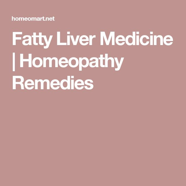 Fatty Liver Medicine | Homeopathy Remedies