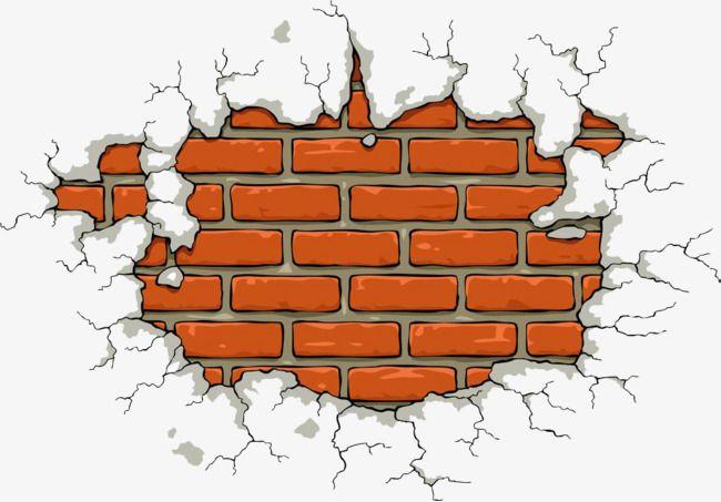 Brick Wall Background Cartoon