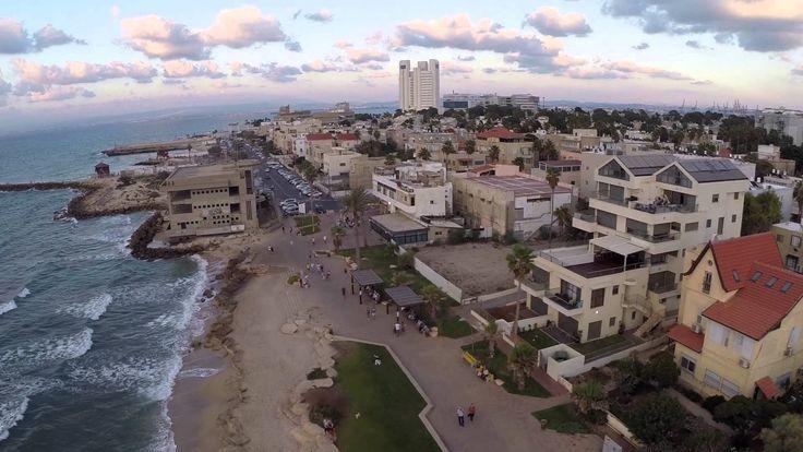 Bat Galim sunset, Haifa, Israel