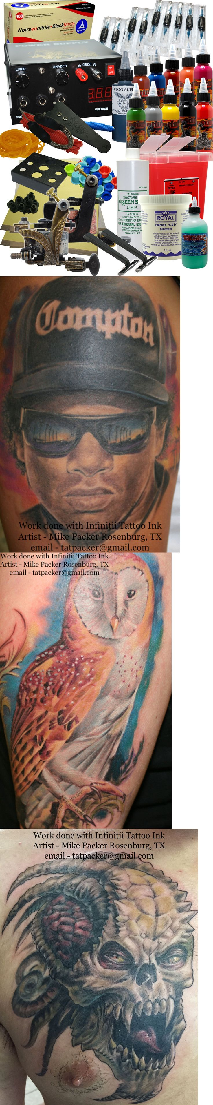 Tattoo Complete Kits: Professional Tattoo Kit BUY IT NOW ONLY: $300.0
