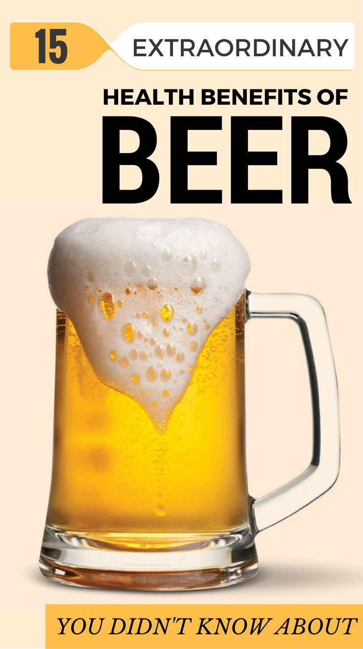 15 Extraordinary Health Benefits Of Beer You Didn't Know About