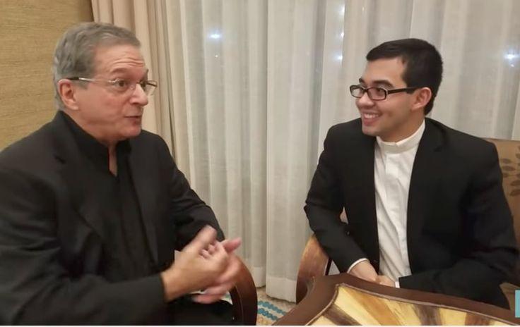Recientemente el Padre Samuel Bonilla, conocido como Padre Sam por su apostolado en las redes sociales, fue entrevistado en EWTN y tuvo