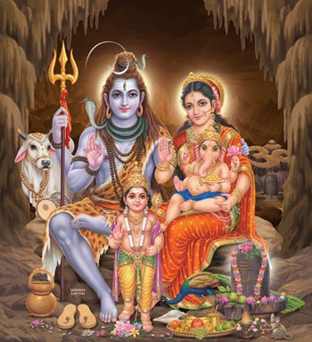 lord shiva family photos - Google Search