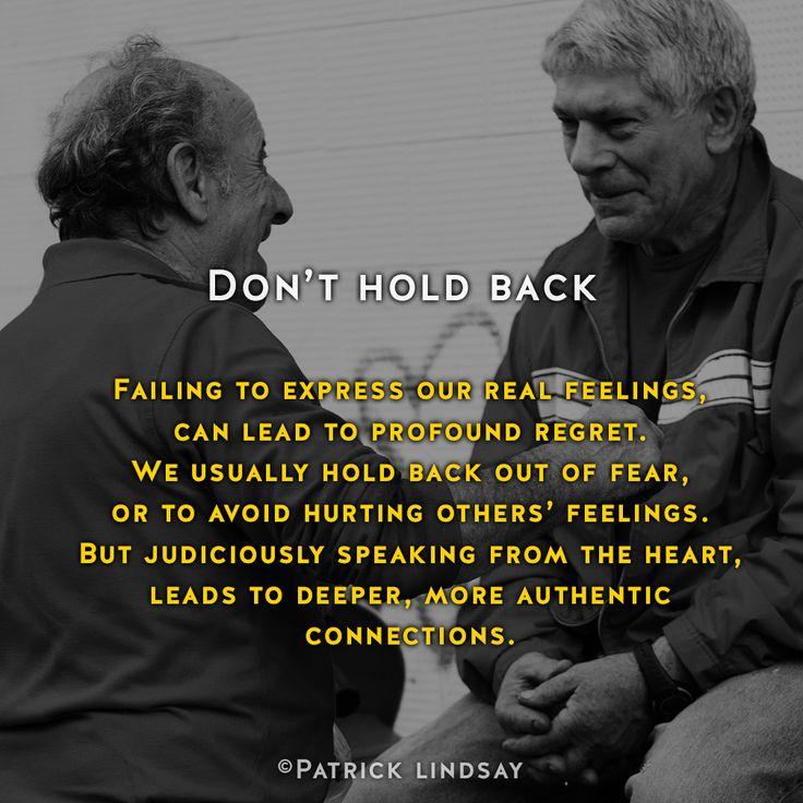 Don't hold back #inspiration #highhopes #makethemostofyou High Hopes: http://goo.gl/OMpfvh