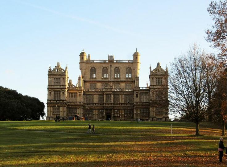 An autumn afternoon walk at Wollaton Hall.