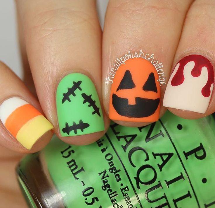 Mejores 130 imágenes de Nails en Pinterest   Uñas bonitas, Diseño de ...