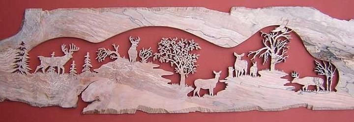 deer puzzles for scroll saw | Scrollsaw Art by Terry Foltz » Wildlife