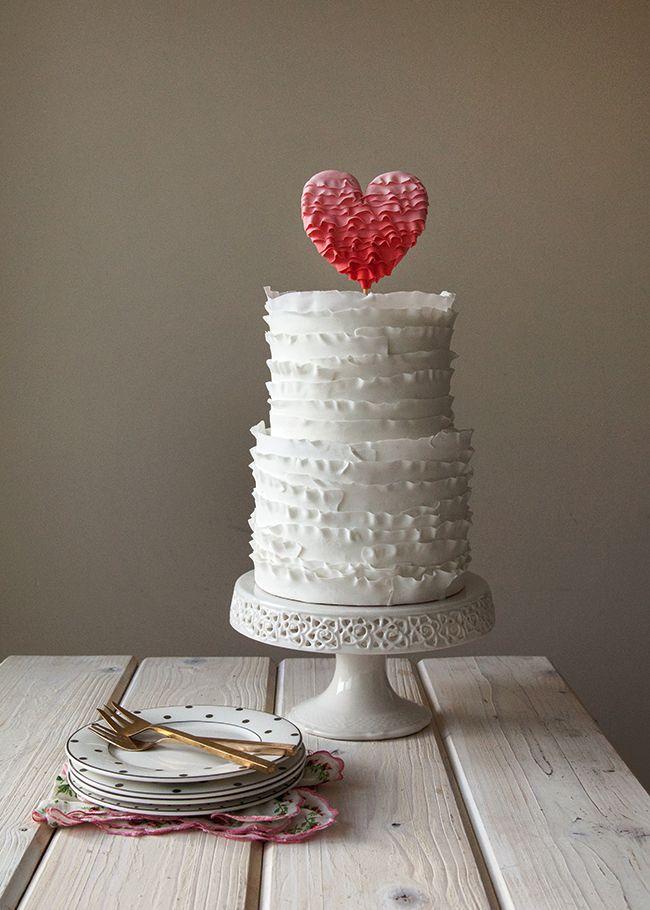 Valentine Wedding Cakes