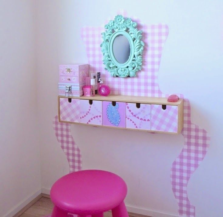 mommo design: 8 ADORABLE IKEA HACKS - MOPPE vanity