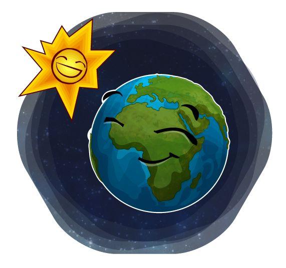 secuencia de ilustraciones del planeta tierra on Behance