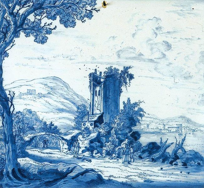 File:Delftware plaque with landscape and figures 001.jpg