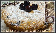 TORTA RUSSA ALLE CILIEGIE RICETTA DI: AGATA GAROFALO Ingredienti: Per la frolla: 150 ml olio di semi Un pizzico di sale 300 g di farina