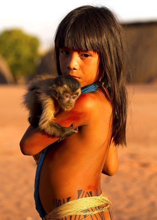 The Yawalapiti Girl Photo by Ernane Junior — National ...
