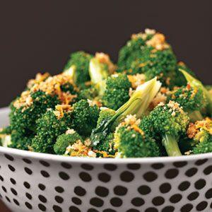 Broccoli with Lemon Crumbs | MyRecipes.com