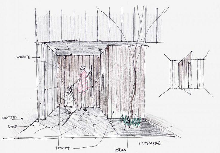 House S, Keiji Ashizawa Design. materiality sketches