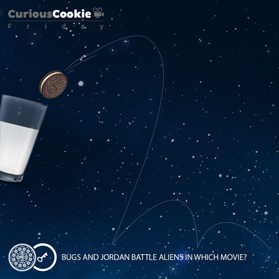 From the biscuit that's loved across the universe. #Friday #CuriousCookie #Movie