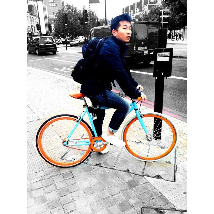 The bike.