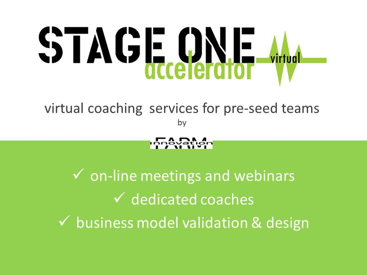 StageOne Virtual Accelerator supports startups from a distance  #accelerator #mentoring #startups
