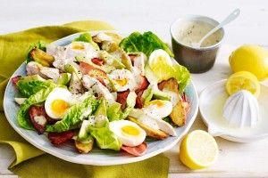 Avocado and roasted potato salad