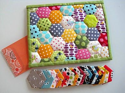 very cute quilt ideas, because I need just one more project :)
