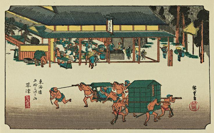 Masterpiece Art - Kusatsu - 53 Stations of Tokaido, $23.00 (http://www.masterpieceart.com.au/kusatsu-53-stations-of-tokaido/)