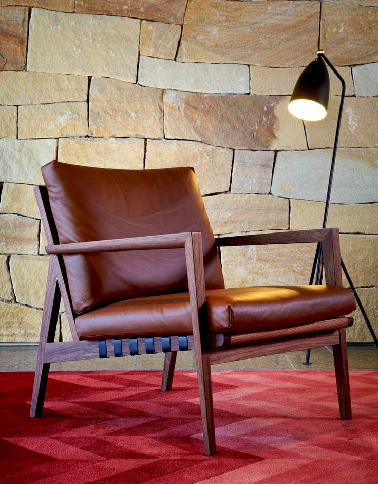 Blava Easy Chair by Atelier D.Q for Ritzwell. Available from Stylecraft.com.au