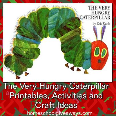 The Very Hungry Caterpillar Printables, Activities and Craft Ideas