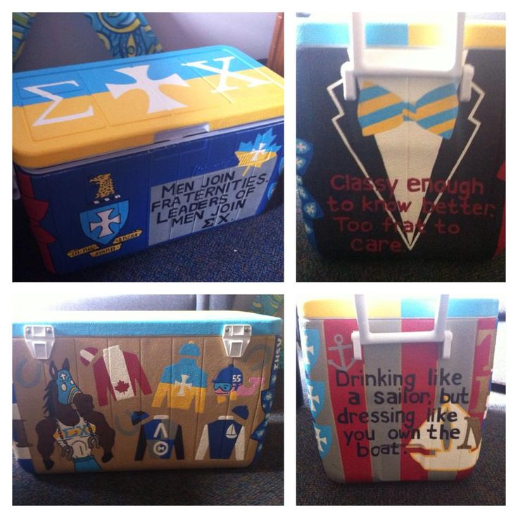 Crafting for Sigma Chi is my favourite pastime. TSM.