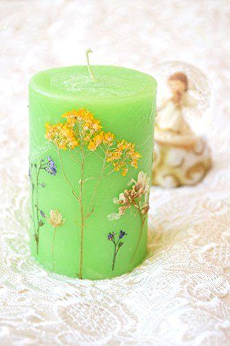 Blumen Kerze Duft Blumen Kerze echte getrocknete Blumen Salbei Kiwi Aromatherapie Kräuter Kerze Hochzeits Bevorzugung Wachskerzen Mamma Geschenk Wohnzimmerdekor Hochzeitsparty Bevorzugung Weihnachtsgeschenkideen