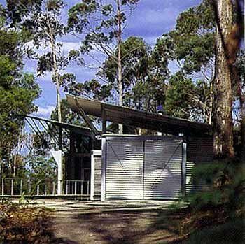 Simpson-Lee House. Mount Wilson, New South Wales, Australia. Glenn Murcutt. 1989
