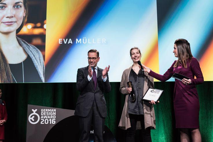 Newcomer Gold Award for Eva Müller.