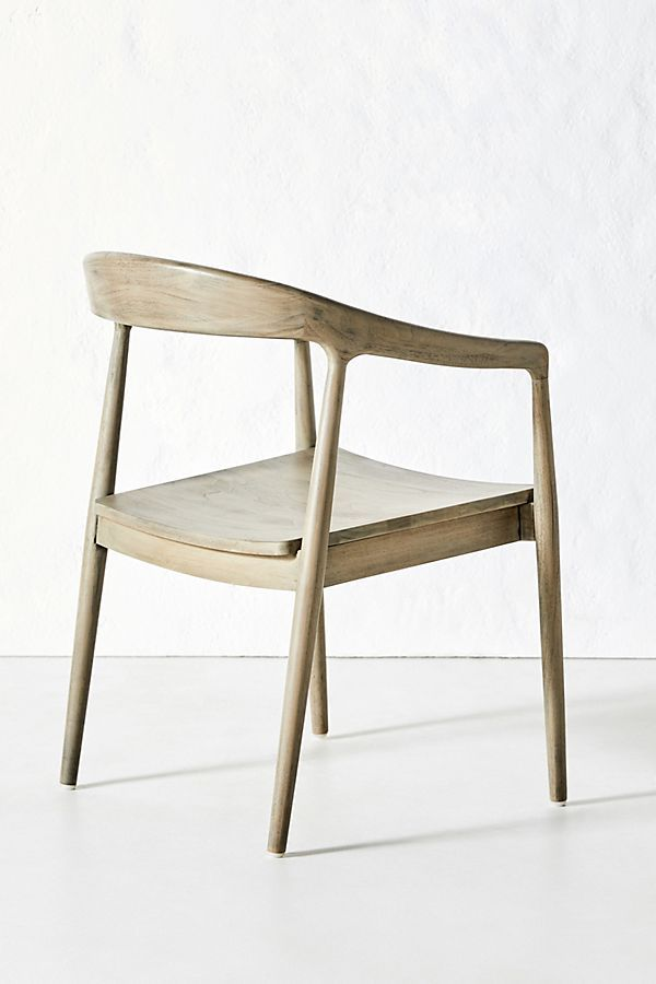 Ingrid Dining Chair By Anthropologie In Grey Size All Dining