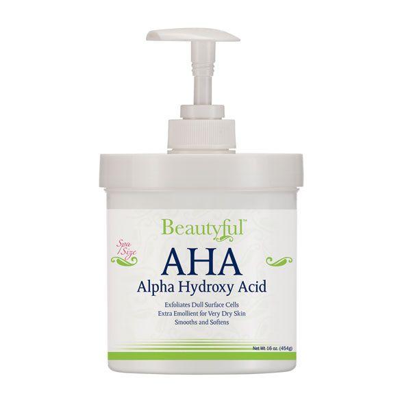 AHA Alpha Hydroxy Acid Cream - 16 oz. - Zoom