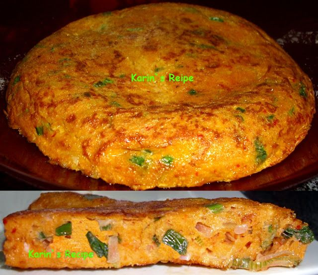 Karin`s Recipe: Telur Sambo Padang (Thick Omelette with Grated Coconut)