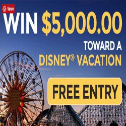 Do You Want A Vacation To Disney? - What an incredible opportunity to get the grand prize of $5,000 towards a Disney vacation! Other prizes are also available daily! If you're feeling lucky, you can sign up here to stand a chance. All you need is your email address in exchange for your entry. It's just that simple.  Disney World is one of the most popular vacation destinations in the world. If you've been planning a Disney trip, you must consider this great opportunity. You have nothing to…