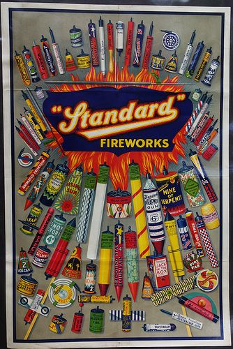 Look at all of these fireworks.  Can you buy fireworks where you live?