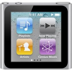Apple 16GB Silver 6th Generation iPod Nano: Mp3 Players, 16Gb, Nano 6Th, Nano 16, Ipod Nano, Ipodnano, Newest Models, Apples Ipod, 6Th Generation