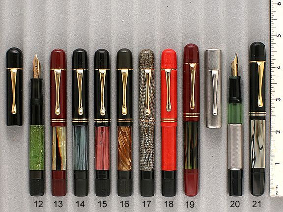 Pelikan pens - Another stunning collection !!! # 18 Coral (Very Rare) $6000.00 !!!