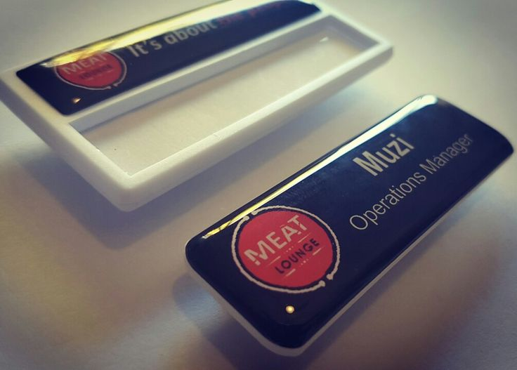 #magneticnambadges #namebadges #nametags #corporatebadges #schoolbadges #schoolnamebadges #reusablebadges #reusablenamebadges #replaceablenamebadges #replaceablenametags #namebadgecompany #designandprint    www.namebadgecompany.co.za  Email: orders.namebadges@gmail.com for a QUOTE today  Cell: 084 636 9208 Graham