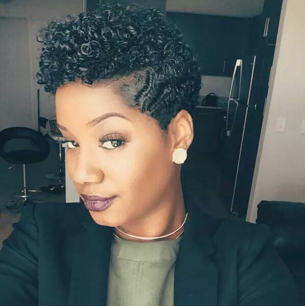 Tapered Cut and Curls