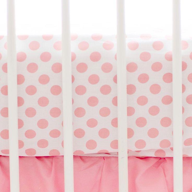 My Baby Sam Coral Crib Sheet