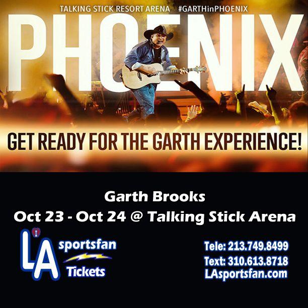 GARTH BROOKS & TRISHA YEARWOOD at Talking Stick Resort Arena