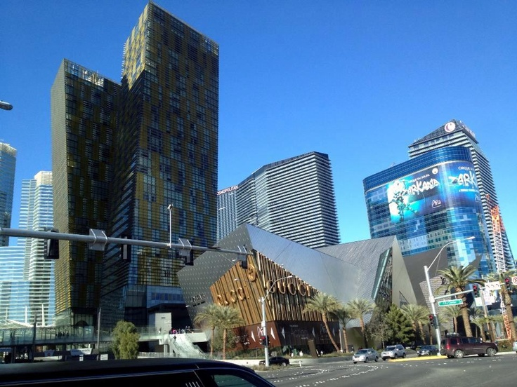 Crystal Mall and Aria Hotel. Las Vegas | Viva Las Vegas ...